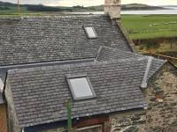 slating nearly complete at rear